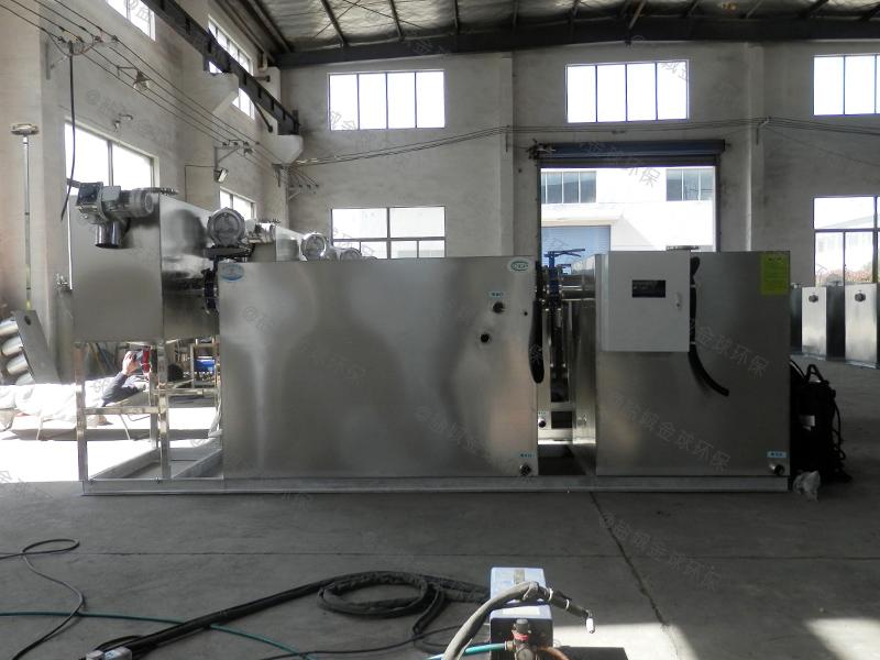 德州食堂废水用的油水分离污水处理设备的计算方法