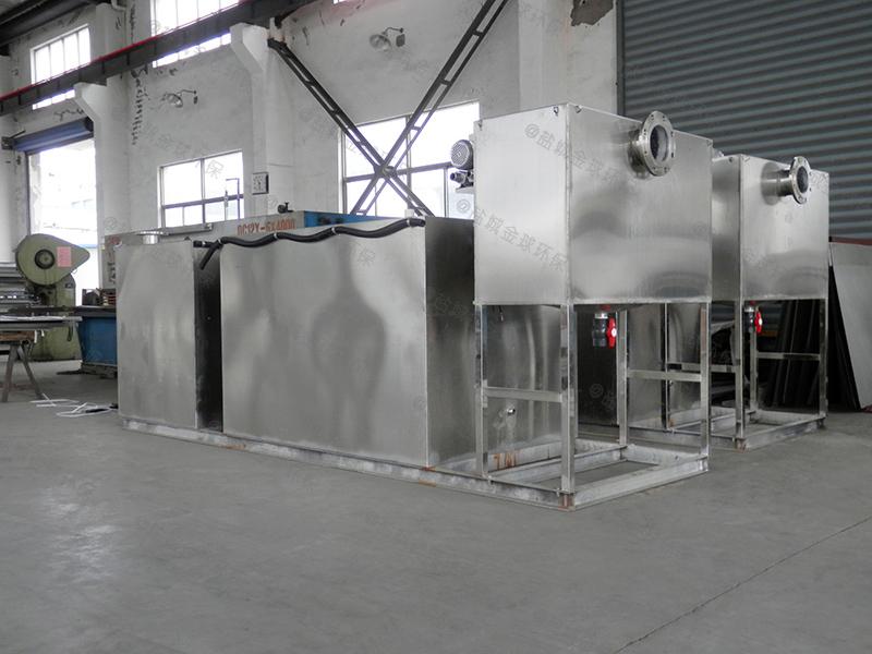 东营微型厨房下水隔油提升设备工程