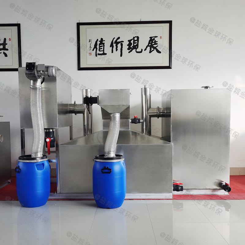 济南食堂废水用的油水分离器设备的效率