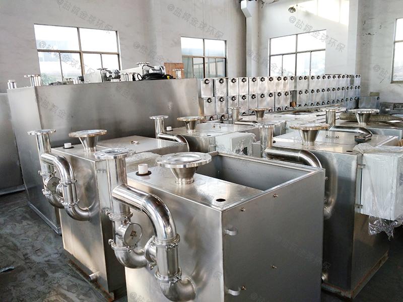 聊城四级食堂下水道油水分离器检验批