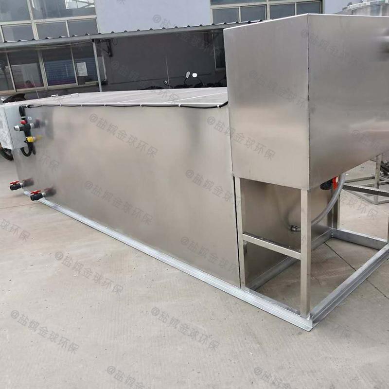 济南地下型下水道油水分离器项目