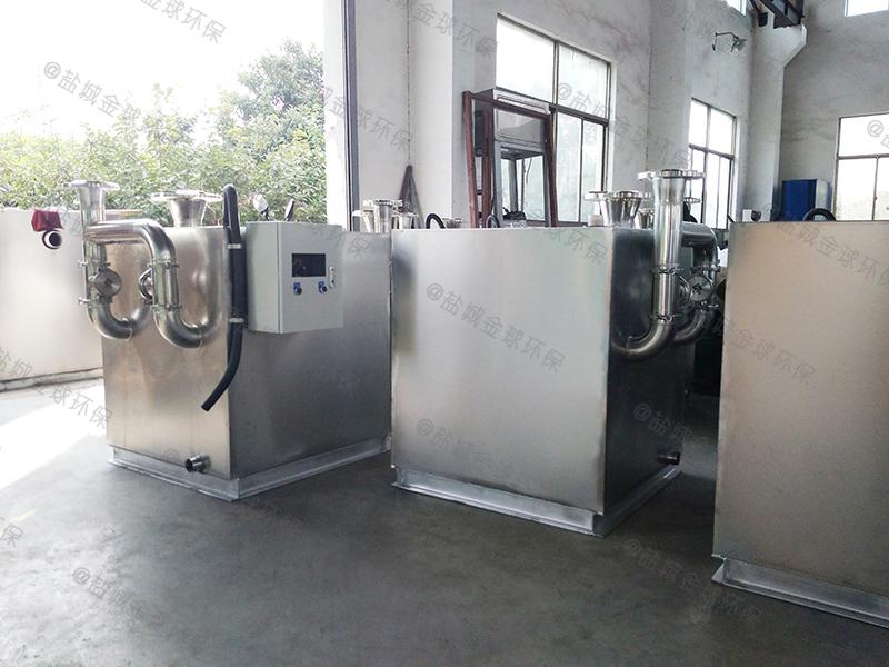 潍坊工业下水除渣隔油提升一体化设备的作用