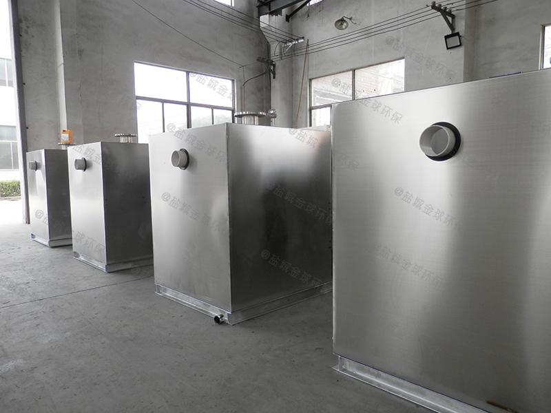 枣庄机械厨房下水油水分离器油渣