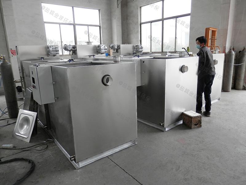 德州厨房垃圾下水隔油提升设备隔油设施