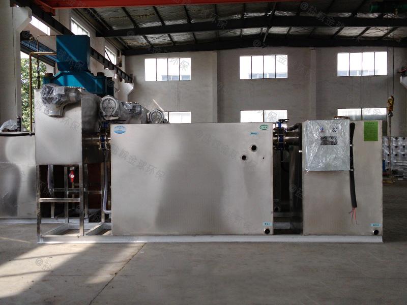 枣庄小型厨房厨房下水除渣隔油提升设备工程量