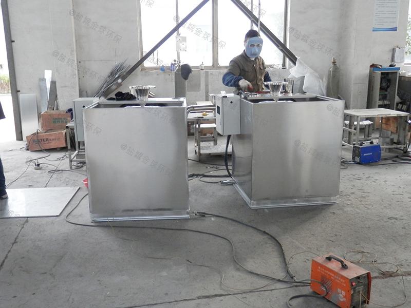 滨州潲水油厨房下水隔油器油渣