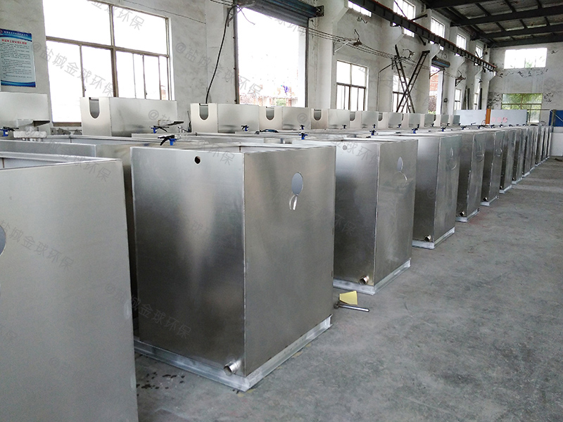 济南重力式厨房下水隔油提升设备工程量