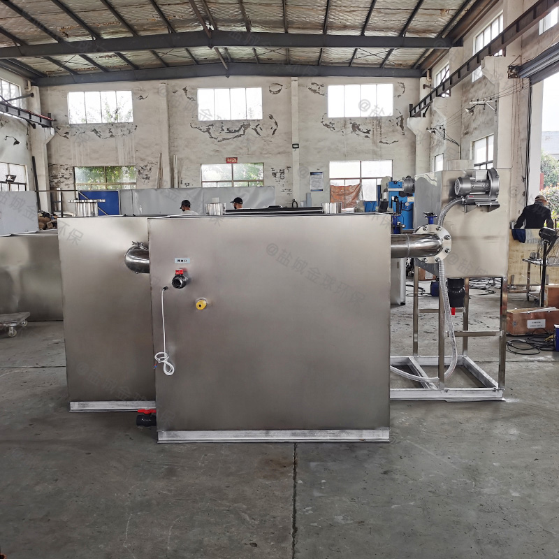 枣庄后厨成品油水分离处理设备的构成