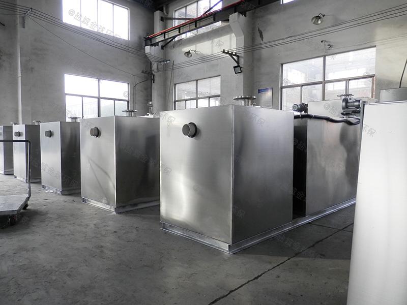 威海饭店厨房下水道隔油提升设备深度
