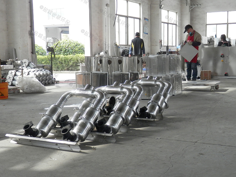 聊城地下型下水道油水分离装置图例