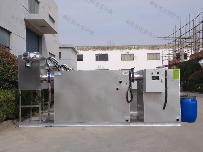 山东小型不锈钢下水隔油提升设备估算
