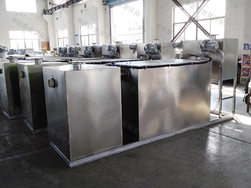 枣庄重力式下水油水分离装置工艺