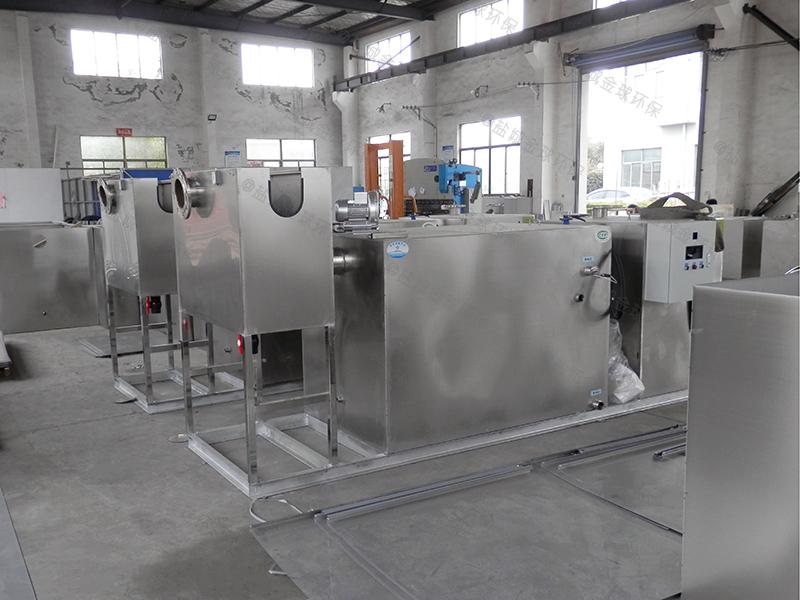 枣庄商用厨房下水道油水分离设备资质