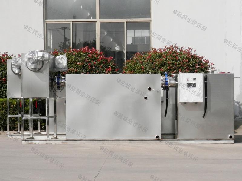 淄博平板厨房下水除渣隔油提升一体化设备的价格
