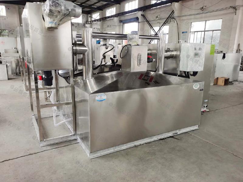 济宁食堂废水用的厨房下水除渣隔油提升装置的价格