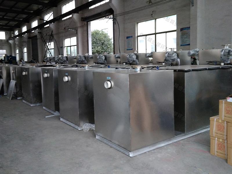 东营食堂厨房油水分离一体化设备的用途