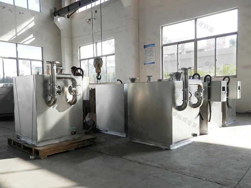 济南施工现场厨房下水除渣隔油提升装置的规范
