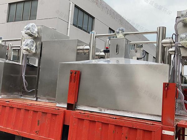 火锅专用压缩空气泔脚油水渣分离设备加盟代理