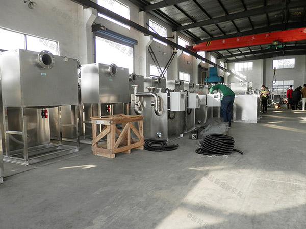 火锅地面混凝土油水过滤分离器大小设置的标准