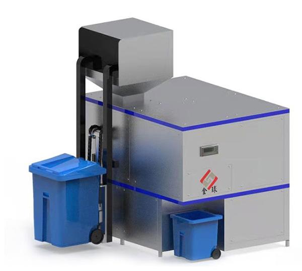 5吨机械式厨余垃圾处理机处理技术与流程