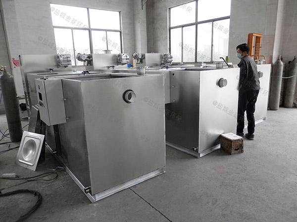 商场餐饮密闭式砖砌油水分离污水处理设备计算方式