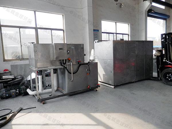 日处理5吨自动化餐厨垃圾处理一体机作用