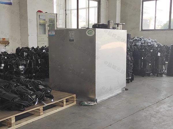 地埋式生活污水处理提升器安装方法