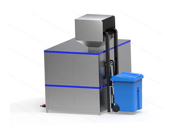 日处理10吨多功能餐厨垃圾撕粹设备技术