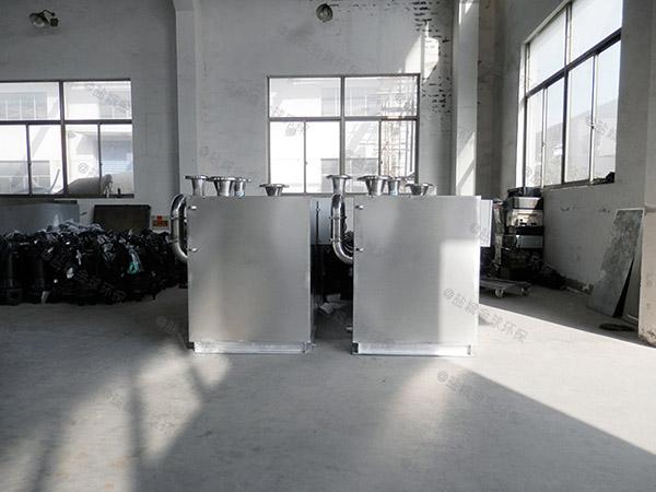 会馆地下室上排污水提升器可代替三化厕吗