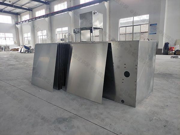 火锅店地埋式污水油水固三相分离装置设计尺寸