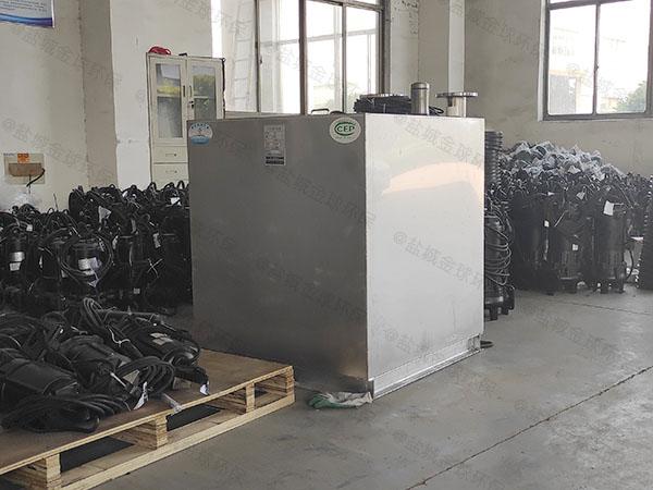 地下室密闭式自动排渣污水处理提升器如何选