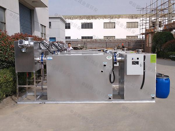 居民用隔渣泔水油水分离器隔油池推荐厂家