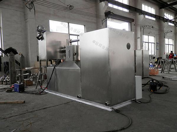 居家用斜板废水油水分离器和隔油器多少立方