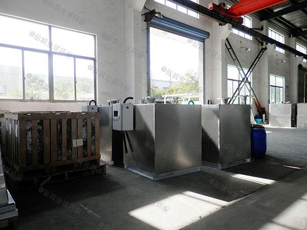 卫浴双泵污水隔油提升器安装时注意事项