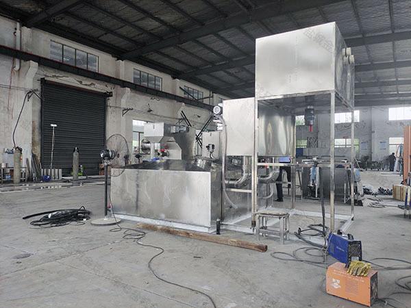 火锅专用地面废水油水分离器提升设备哪里卖