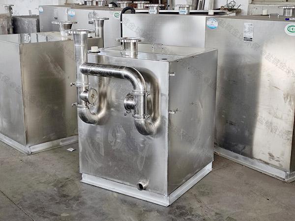 餐厨密闭污水提升器装置有什么功效