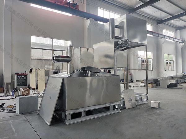火锅专用密闭式隔悬浮物油水分离与处理设备设计规范讲解
