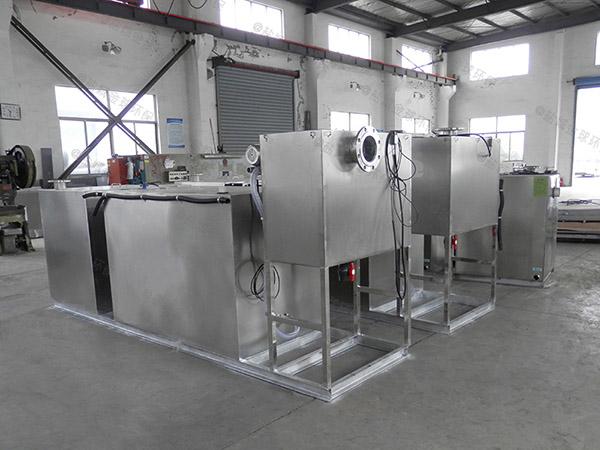 火锅专用压缩空气泔水油污水分离装置成型图片